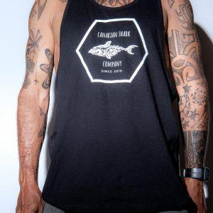 Fofo de Camiseta Negra sin Mangas